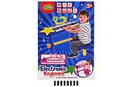 Пианино со стульчиком и микрофоном «Electronic Keyboard», MTK007, оптом
