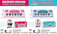 Пианино - синтезатор с микрофоном от сети, 328-03B03C