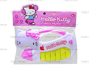 Детское пианино Hello Kitty, ZZ1402-1, фото