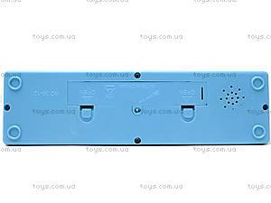 Пианино нежно-голубого цвета для малыша, 06-12J, купить