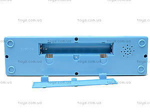 Пианино нежно-голубого цвета для малыша, 06-12J, фото