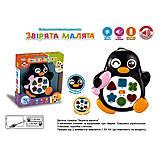 Пианино «Зверушки малютки: пингвинчик» на украинском языке, UKA-A0004-4, фото
