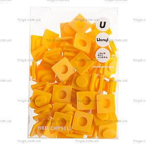 Пиксели Upixel Big, бананово-желтые, WY-P001F