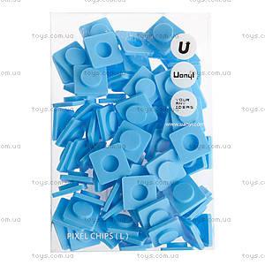 Пиксели Upixel Big, голубые, WY-P001O
