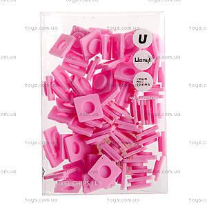 Пиксели Upixel Big, розовые, WY-P001B