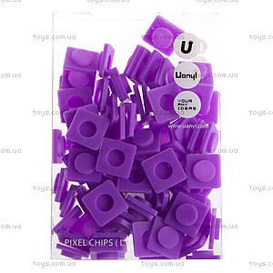 Пиксели Upixel Big, сиреневые, WY-P001D