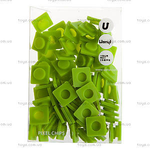 Пиксели Upixel Big, зеленые, WY-P001J