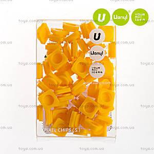 Пиксели Upixel Small, бананово-желтые, WY-P002F