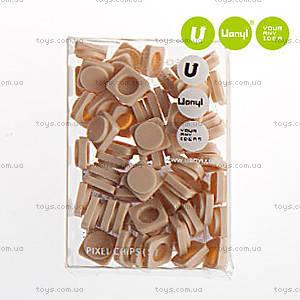 Пиксели Upixel Small, кремовые, WY-P002H