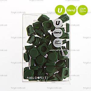 Пиксели Upixel Small, темно-зеленые, WY-P002I