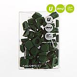 Пиксели Upixel Small, темно-зеленые, WY-P002I, купить