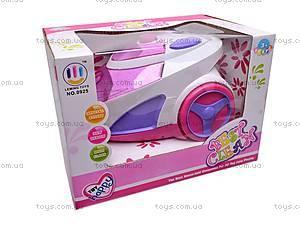 Пылесос игрушечный, для девочек, 0925, фото