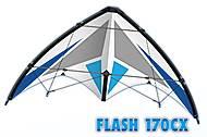 Пилотажный кайт Flash 170CX, PG1036, детские игрушки