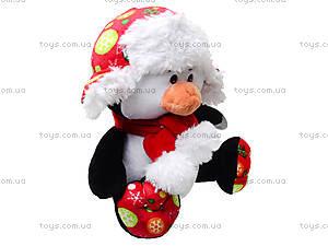 Игрушечный пингвин в шапке с шарфом, 1449026, фото