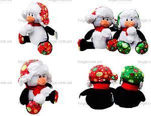 Игрушечный пингвин в шапке с шарфом, 1449026