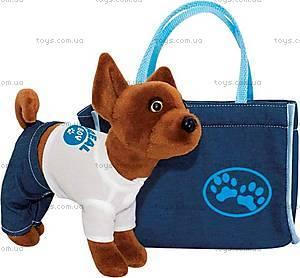 Плюшевый пёсик в сумочке, SVSM0