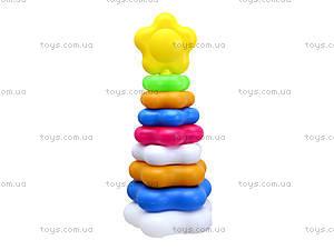 Детская пирамидка «Ромашка», 0195, цена