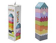 Деревянная пирамидка - конструктор, 11308, детские игрушки