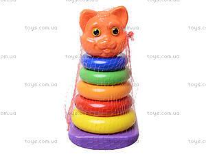 Пирамидка-качалка «Кошка», 573в.4, фото