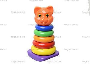 Пирамидка-качалка «Кошка», 573в.4, игрушки
