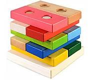Пирамидка-конструктор «Логика», Ду-32, игрушки