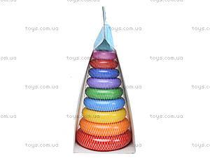 Развивающая игрушка «Пирамидка Люкс», 39104, цена