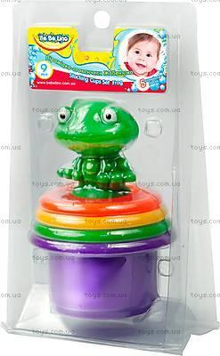 Пирамидка-стаканчики с брызгалкой для ванной, 57111, купить