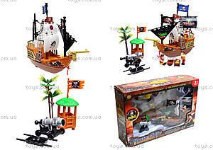 Игровой пиратский корабль с фигурками, 31232B
