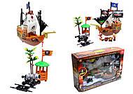 Игровой пиратский корабль с фигурками, 31232B, купить