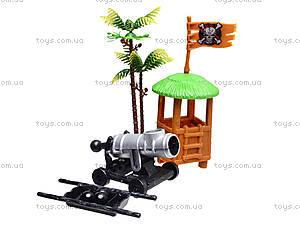 Игровой пиратский корабль с фигурками, 31232B, игрушки