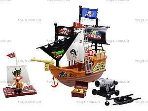 Пиратский корабль с фигурками пиратов, 32033A, фото