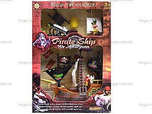 Пиратский корабль с фигурками пиратов, 32033A, отзывы