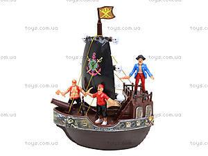 Пиратский корабль для детей «Корсары», 338-1M, игрушки