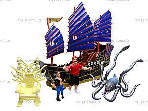 Игровой набор с фигурками «Пиратский корабль», 342-79, цена