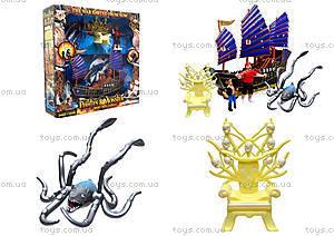Игровой набор с фигурками «Пиратский корабль», 342-79