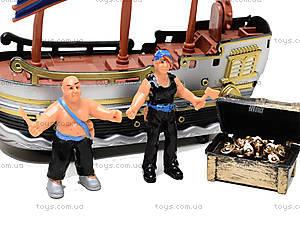 Детский пиратский корабль с игровыми фигурками, 344-12, купить