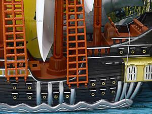 Игрушечный пиратский корабль «Легенды», 351-1, купить