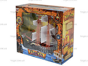 Игрушечный пиратский корабль «Легенды», 351-1, детские игрушки