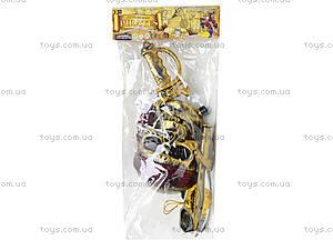 Игровой пиратский набор с маской-черепом, ZP3554, фото