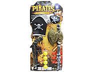 Детский пиратский набор с повязкой и мушкетом, U22-A5, фото