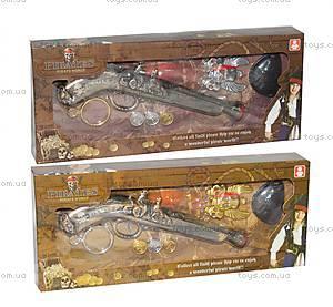 Пиратский набор с пистолетом, 666-3666-4
