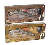 Пиратский набор с пистолетом, 666-3666-4, купить