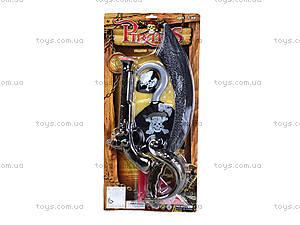 Детский пиратский набор с саблей, 6622B-116