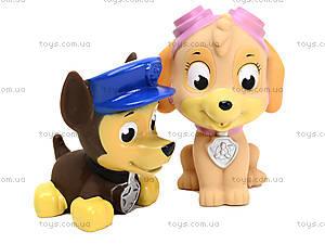 Резиновые пищалки «Щенячий патруль», 7788-4A, детские игрушки