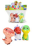 Игрушки-пищалки «Динозавры», 5588-3F5588-3D, фото