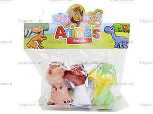 Игрушки-пищалки «Динозавры», 5588-3F5588-3D, детские игрушки