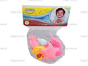 Игрушки для ванной «Жители моря», 57088, фото