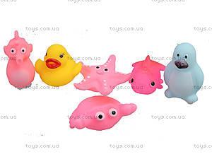 Игрушки для ванной «Жители моря», 57088, цена