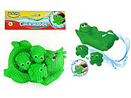 Пищалки для ванной «Семья лягушек», 57091, отзывы