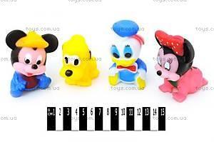 Пищалки «Герои Disney», 4 штуки, V9848